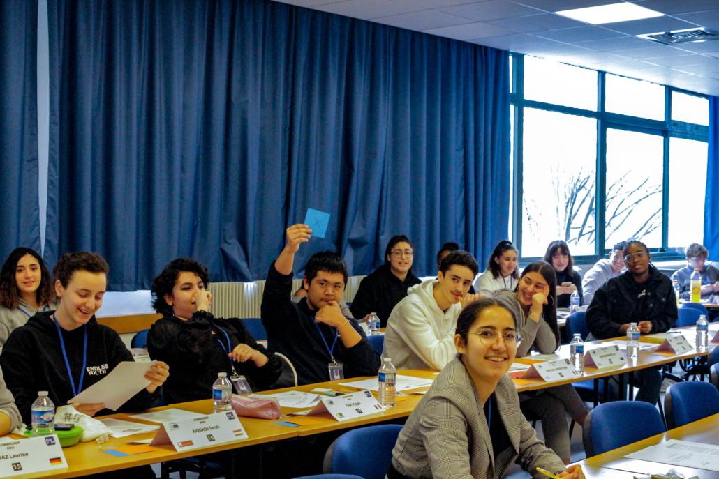 Simulation Parlement Européen débats